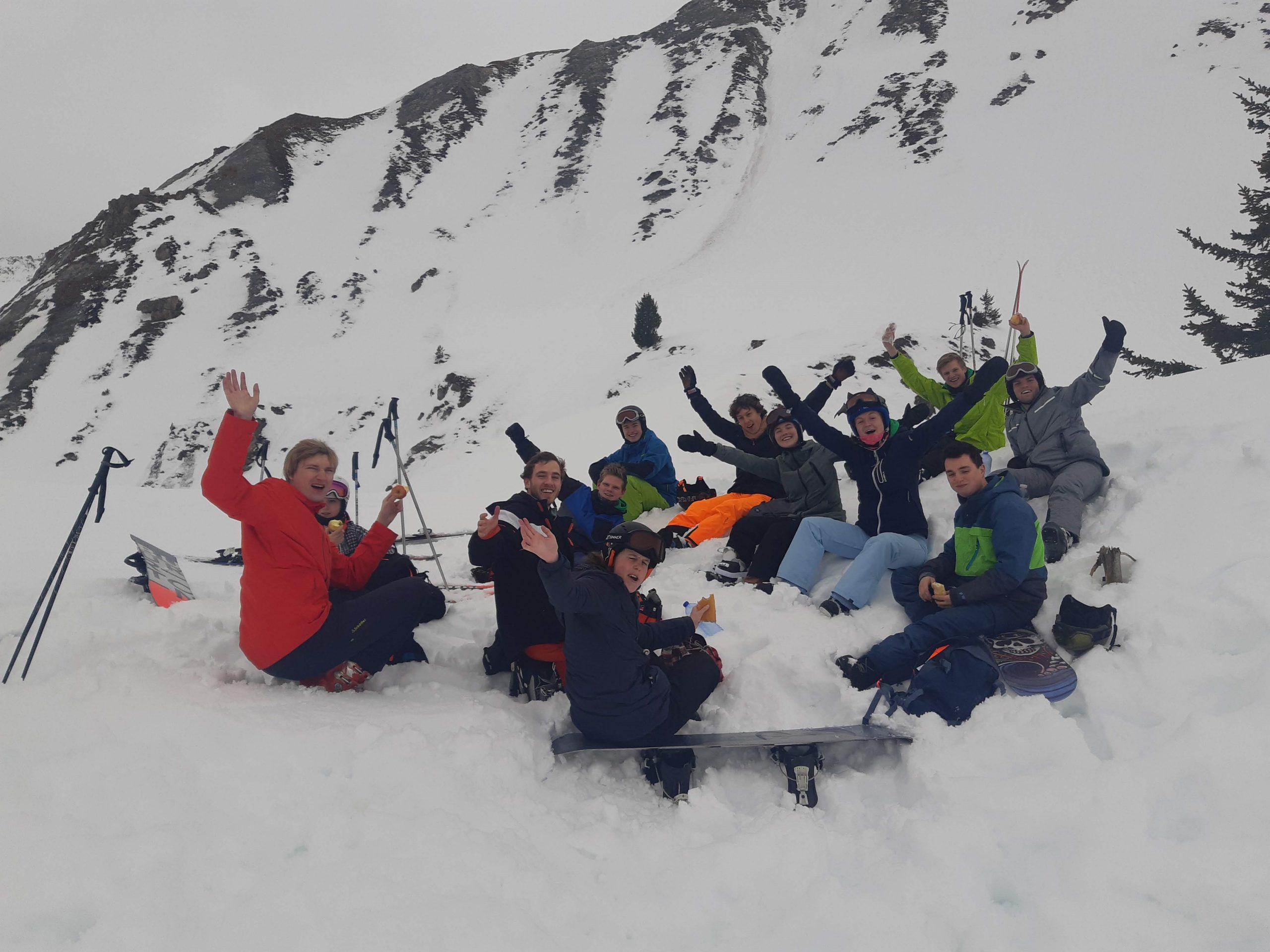 Skiën in de Alpen